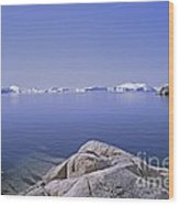 Ilulissat Icefjord Greenland Wood Print