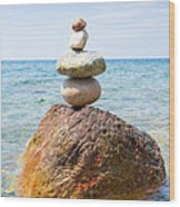 In Balance Wood Print