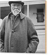 Industrialist Andrew Carnegie Wood Print