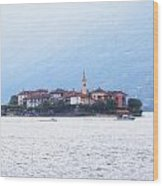 Isola Dei Pescatori Wood Print