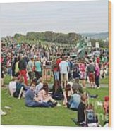Jack In The Green Festival 2014 Wood Print