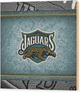 Jacksonville Jaguars Wood Print by Joe Hamilton