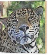 Jaguar 2 Wood Print