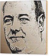 James Gandolfini In 2007 Wood Print