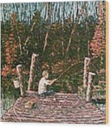 Jons Dock Wood Print