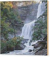 Kaaterskill Falls Square Wood Print