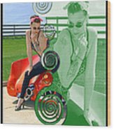 Kandi Blaze Poster 3 Wood Print