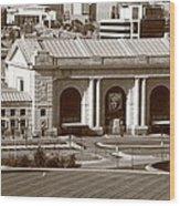 Kansas City - Union Station Wood Print