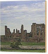 Kenilworth Castle Panorama Wood Print
