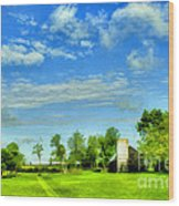 Kentucky Countryside Wood Print by Darren Fisher