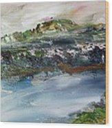 Kern River Wood Print