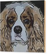 King Charles Art Wood Print
