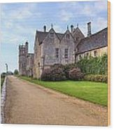 Lacock Abbey Wood Print