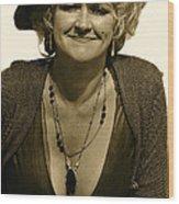 Lady Extra The Great White Hope Set Globe Arizona 1969-1984 Wood Print