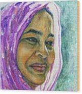 Lady From Bangladesh Wood Print