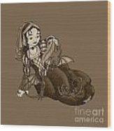 Lady Merewalds Pets Wood Print