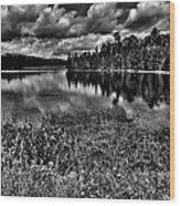 Lake Abanakee In The Adirondacks Wood Print