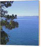 Lake Tahoe 2 Wood Print