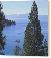 Lake Tahoe 4 Wood Print