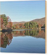 Lake Tamarack  Wood Print