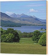 Lakes Of Killarney Wood Print
