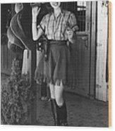 Lana Turner, 1937 Wood Print