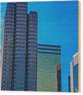 Landmark Buildings Wood Print