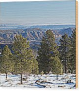 Larb Hollow Overlook Wood Print