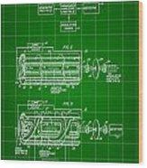 Laser Patent 1958 - Green Wood Print