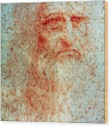Leonardo Da Vinci (1452-1519) Wood Print