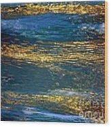 Light On Water Wood Print