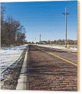 Lincoln Highway Wood Print