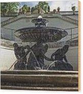 Linderhof And Royal Garden Wood Print