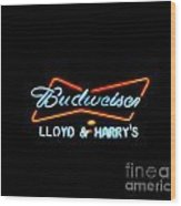 Lloyd And Harry's Wood Print