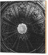 Looking Up Siena Cathedral 2 Wood Print