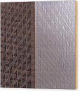 Los Angeles Buildings Wood Print