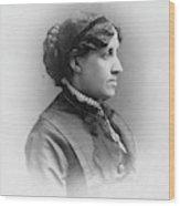 Louisa May Alcott (1832-1888) Wood Print