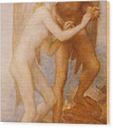Love And Life Wood Print