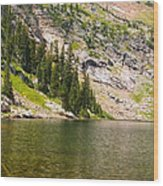 Lower Crater Lake Wood Print