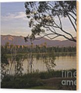 Lower Otay Lake - California Wood Print