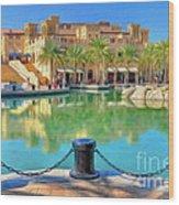 Madinat Jumeirah Souk - Dubai Wood Print