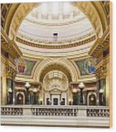 Madison Capitol Wood Print