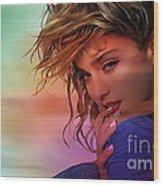 Madonna Art Wood Print