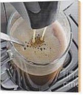 Making A Coffee Wood Print