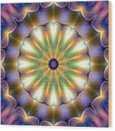 Mandala 105 Wood Print