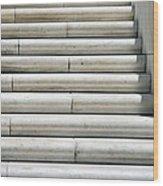 Marble Lines Wood Print