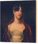 Margaret Moncrieff Wood Print