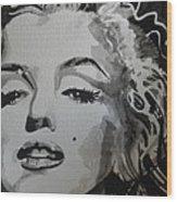 Marilyn Monroe 01 Wood Print