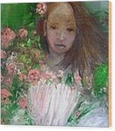 Mary Rosa Wood Print