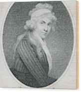 Mary Wollstonecraft Godwin Wood Print